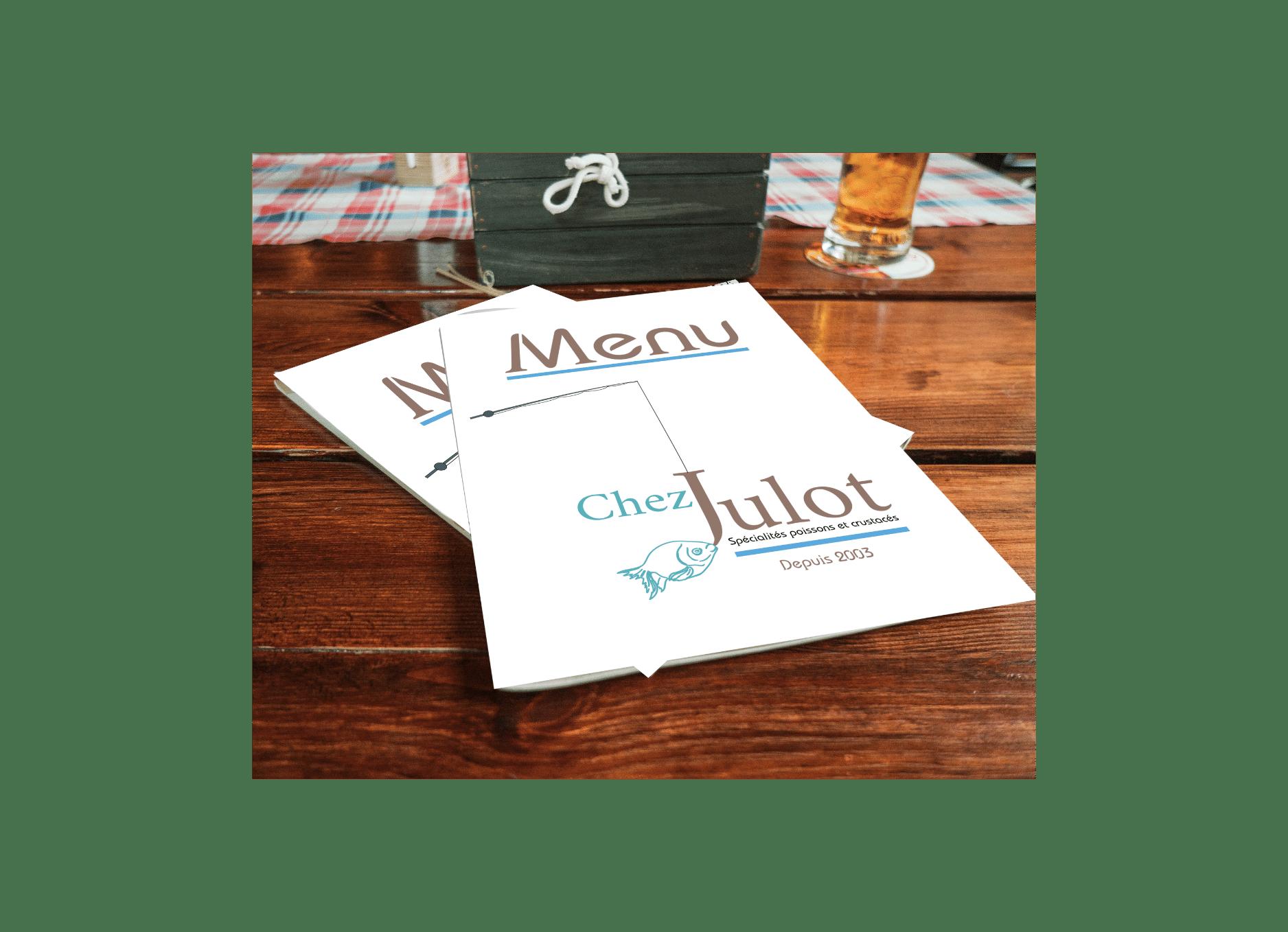Chez Julot menu